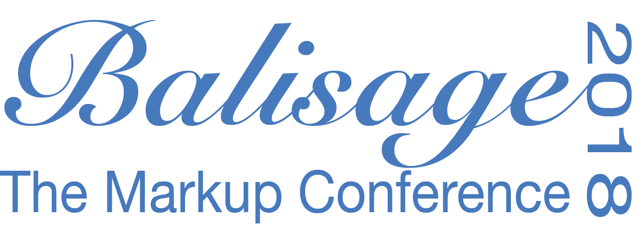 Balisage: The Markup Conference logo