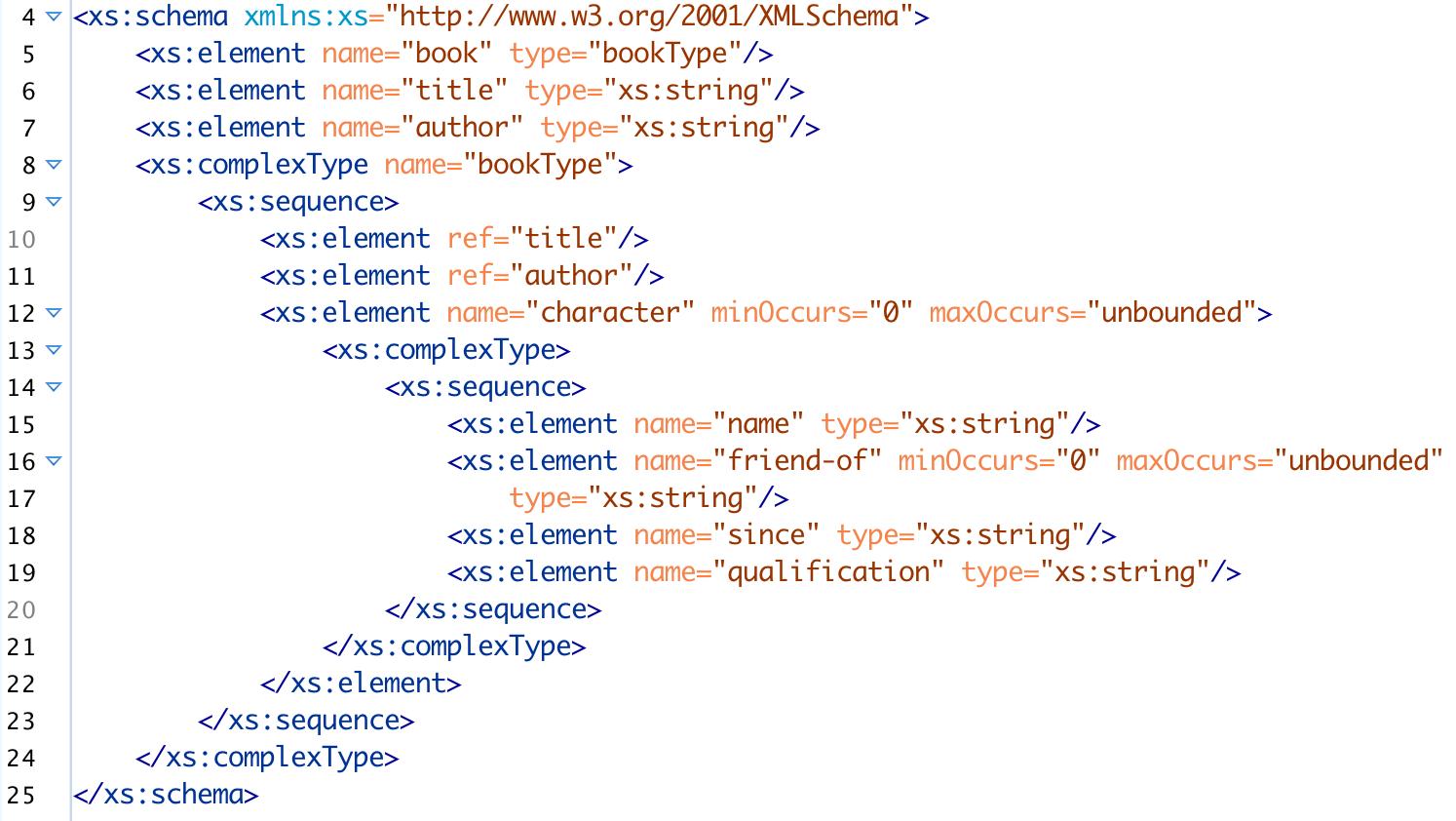 Balisage: Four Basic Building Principles (Patterns) for XML Schemas